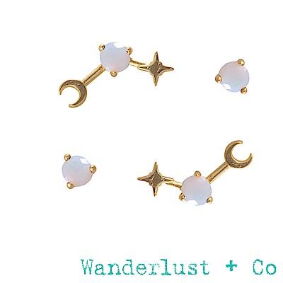 Wanderlust+Co 生日石系列- 十月耳環