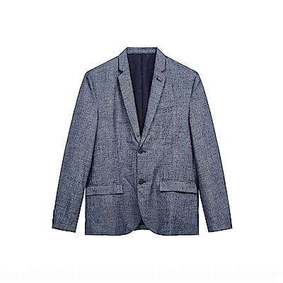 CACO-麻料正式西裝外套-男SPA089