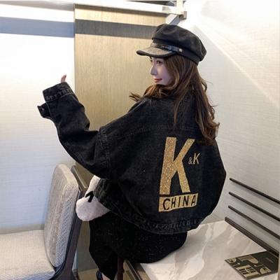 【韓國K.W.】(預購)狂賣韓國帥氣牛仔外套