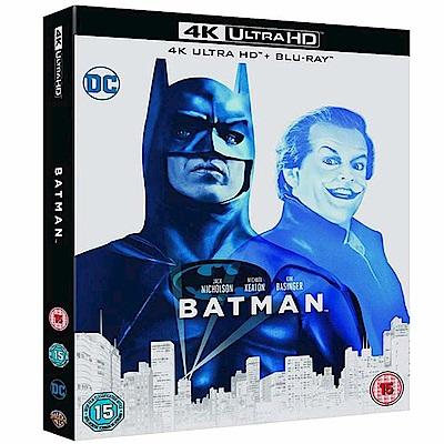 蝙蝠俠 Batman 4K UHD + BD 雙碟限定版