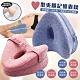 心形健康好眠夾腿透氣釋壓記憶枕(加贈3D防塵彩印壓縮收納袋) product thumbnail 2