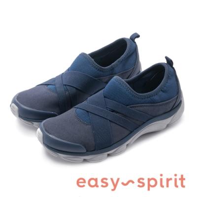 Easy Spirit-RISTON2 樂活舒適時尚運動休閒鞋-藍色