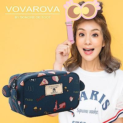 VOVAROVA x 莎莎-裝不滿化妝包-金莎假期-環遊世界系列