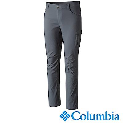 Columbia哥倫比亞 男款-防曬50防潑長褲-深灰 UAE29350DY