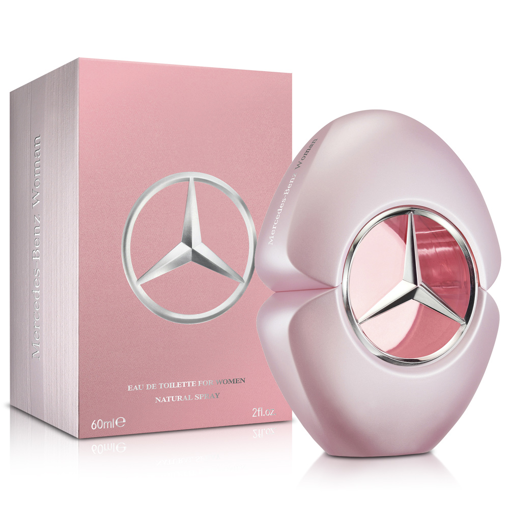 Mercedes Benz 賓士 爵色佳人女性淡香水60ml-送沐浴精