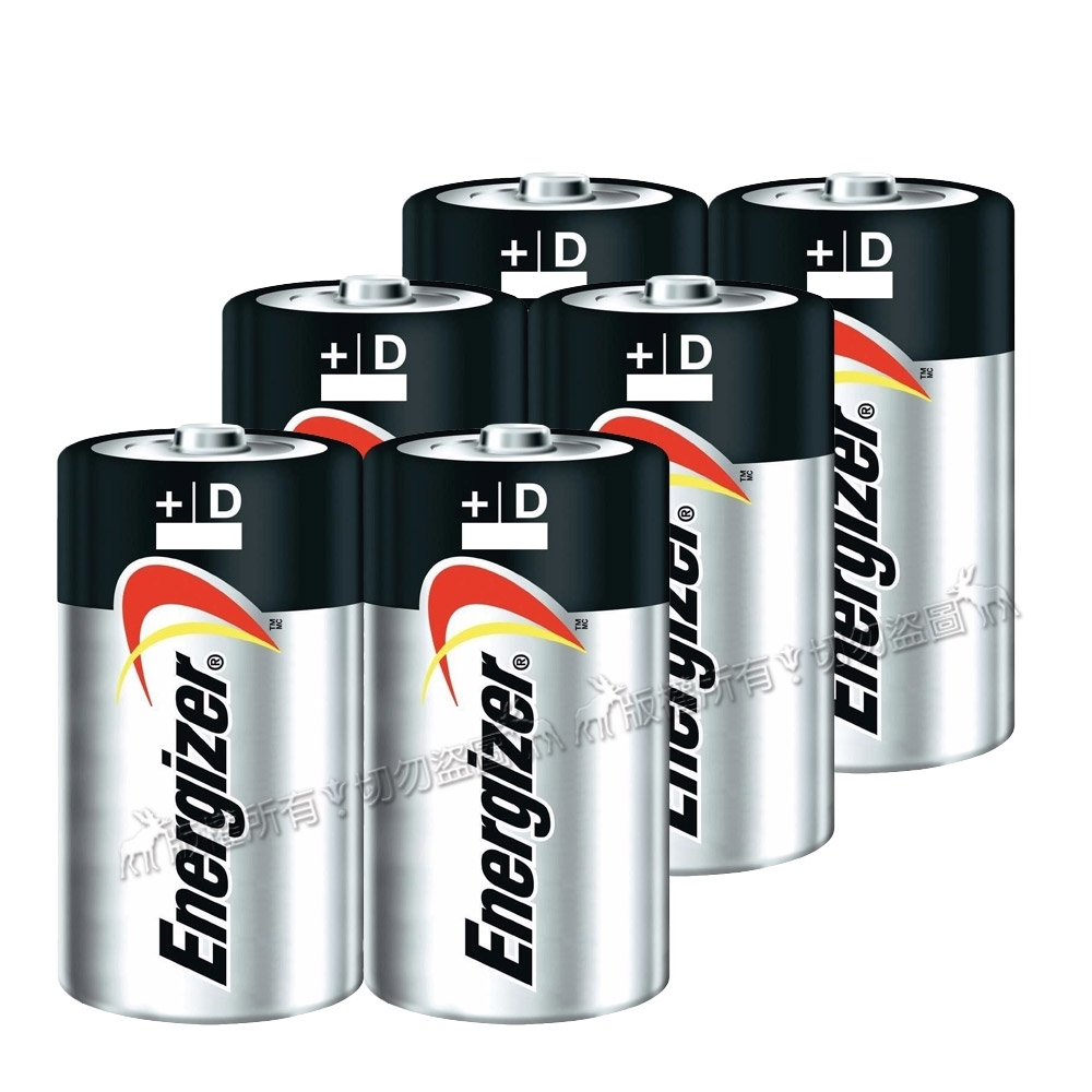 Energizer 勁量 持久型1號鹼性電池 (6顆入)