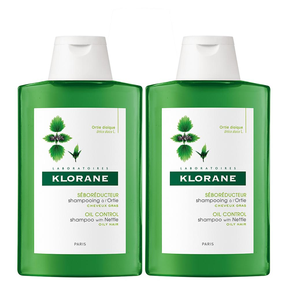 KLORANE蔻蘿蘭 控油洗髮精200ml(2入下殺)