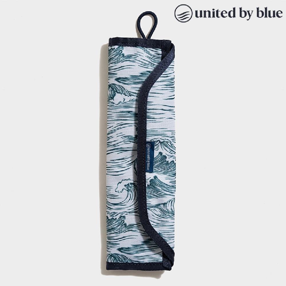 United by Blue 814-038 Utensil Kit 防潑水餐具收納包組 / 印花藍色