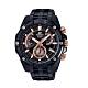CASIO卡西歐 粗曠質感搶眼不鏽鋼男腕錶(EFR-559DC-1A)-黑x49mm product thumbnail 1