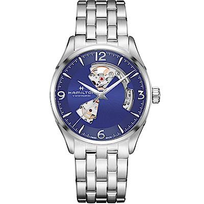 (無卡分期12期)Hamilton漢米爾頓 爵士系列 80小時自動腕錶(H32705141)