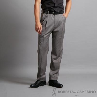 ROBERTA諾貝達 舒適腰圍設計 高質感西裝褲 灰色