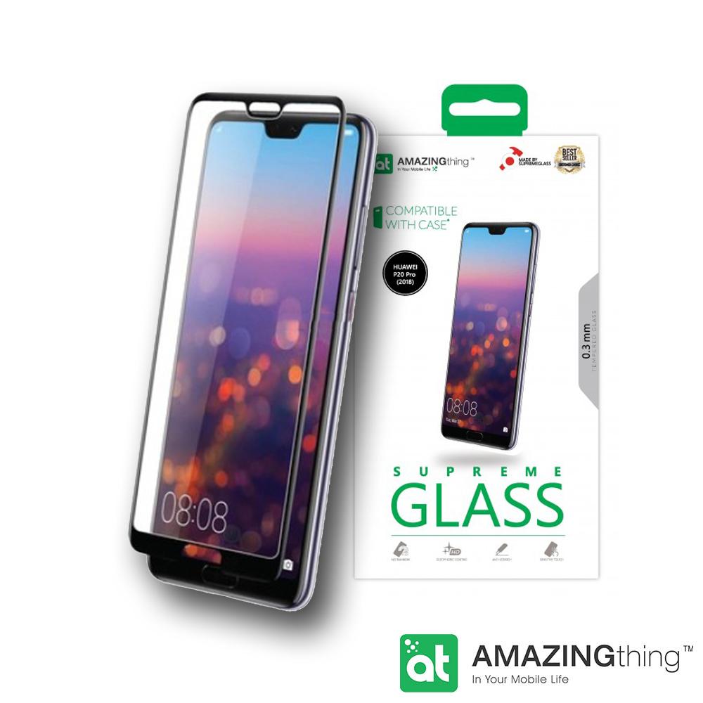 AMAZINGthing 華為 P20 Pro 滿版強化玻璃保護貼 @ Y!購物