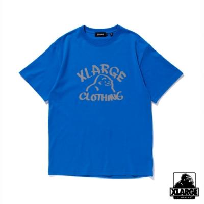 XLARGE S/S TEE REFLECTOR DRAWING OG短袖T恤-藍