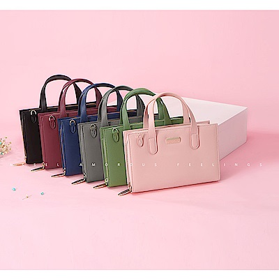 leaper 時尚多功能單肩小背包手提包 共6色