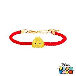 Disney迪士尼TSUM TSUM系列金飾 黃金編織手鍊-愛麗絲款