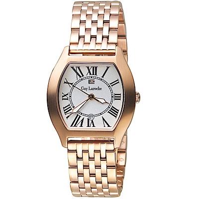 姬龍雪Guy Laroche Timepieces古典羅馬女錶(LW5047B-04)