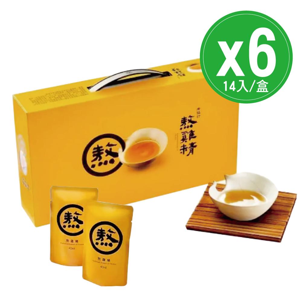 (6入組)老協珍 熬雞精-14入×6盒