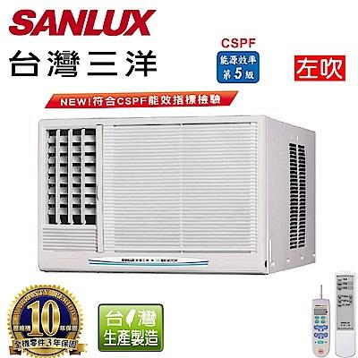 台灣三洋SANLUX 4-6坪窗型定頻左吹式SA-L28FE