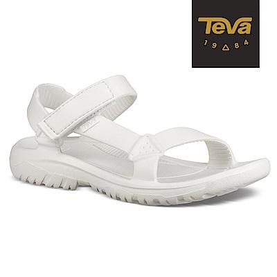 TEVA 女 Hurricane Drift 水陸輕量涼鞋-白