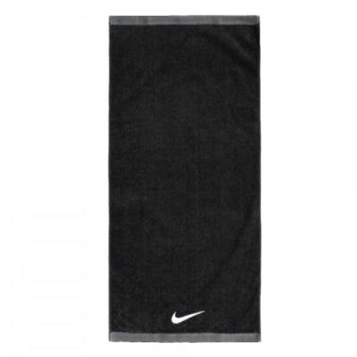 Nike 毛巾 Fundamental Towel 棉質 運動休閒 健身 重訓 路跑 吸汗 黑 白 NET17010MD