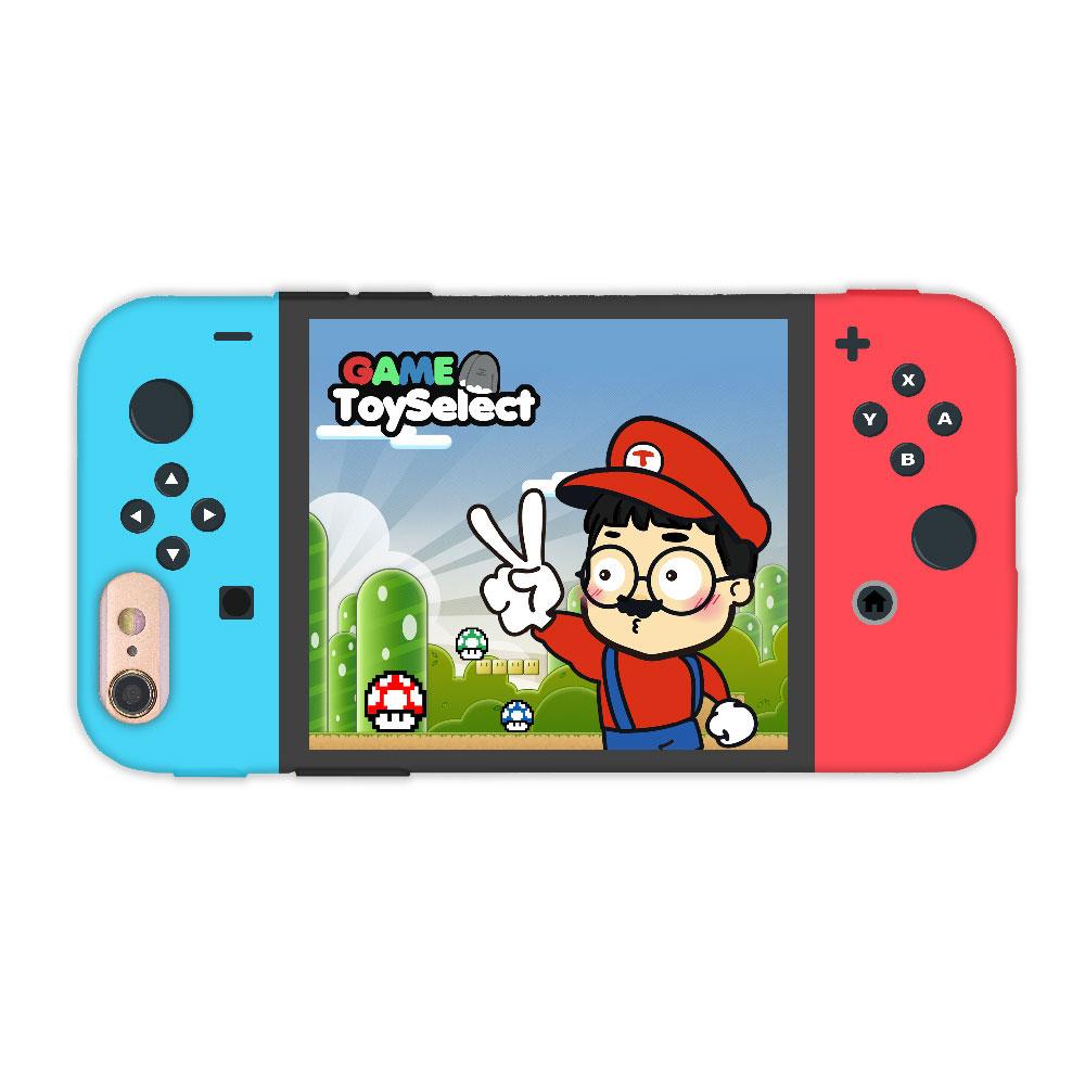 【TOYSELECT】iPhone SE2/7/8 拓伊玩玩switch設計手機殼