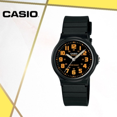 CASIO卡西歐 輕巧簡約指針錶(MQ-71-4B)