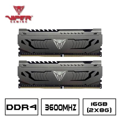 博帝 D4 3600 2x8G 桌上型記憶體