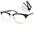 MATSUDA眼鏡 日本精工設計款/黑-金 #M2040 BLK-BG