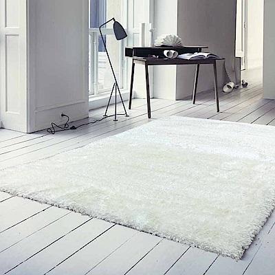 范登伯格 - 朵莉絲 質感長毛進口地毯 (白色 - 165x235cm)