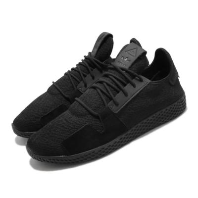 adidas 休閒鞋 PW Tennis Hu V2 男女鞋 海外限定 愛迪達 三葉草 球鞋 情侶鞋 黑 DB3326