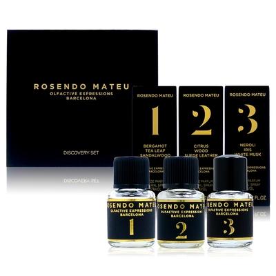 ROSENDO MATEU discovery set 旅組A (5ml*3) (內容物:Nº1、Nº2、Nº3)(平行輸入)