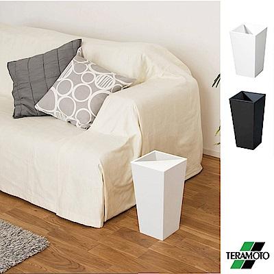 日本UNEED隱藏式上蓋方形質感垃圾桶(大,9L)