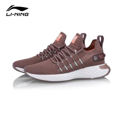 LI-NING 李寧 雲六代Element-女慢跑鞋 茄皮紫(ARHQ002-3)