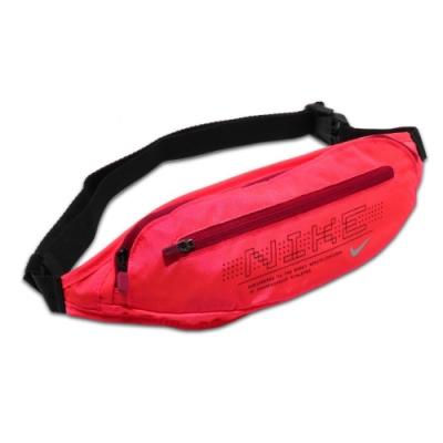 Nike 腰包 Graphic Waistpack 2 男女款 斜背 外出 輕便 小包 穿搭推薦 紅 黑 N1000825655OS