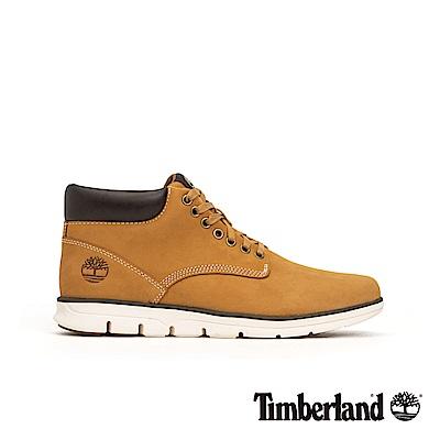 Timberland 男款小麥黃絨面皮革休閒鞋 | A1989231