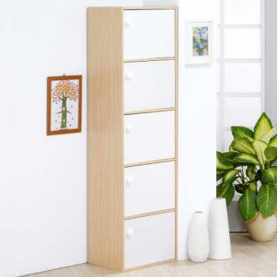 《HOPMA》DIY巧收五門收納櫃-寬42 x深30 x高148.5cm