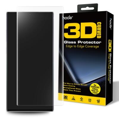 hoda Samsung Galaxy Note 10+ 3D玻璃貼(UV膠全貼合內縮滿版