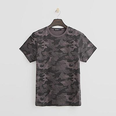 Hang Ten - 男裝 - 迷彩風T恤-灰色