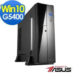 華碩H310商用平台[特務武士]雙核Win10效能電腦