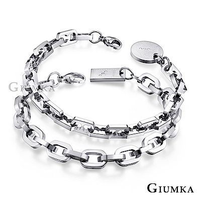 GIUMKA情侶手鍊刻字情人節推薦戀愛線索 一對價格