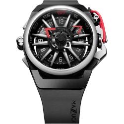 Mazzucato RIM 鷗翼式翻轉超跑雙機械石英手錶 RIM01-BK186
