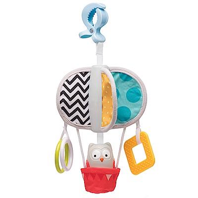 taf toys五感開發系列-貓頭鷹奧比搖鈴