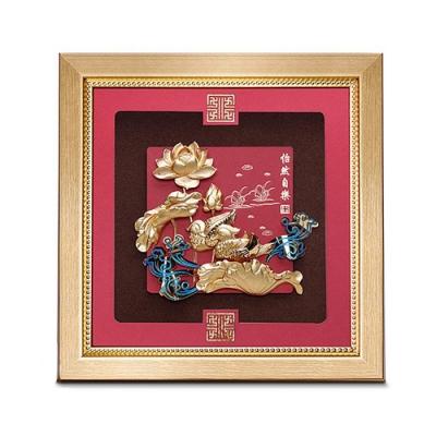 My Gifts 立體金箔畫-怡然自樂(祥和系列23.8x23.8cm)