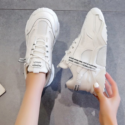 韓國KW美鞋館-(預購)純淨悠甜老爺鞋運動鞋(彈力 輕量  耐磨 休閒鞋)(共2色)