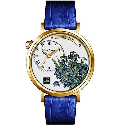 梵谷Van Gogh Swiss Watch梵谷演繹名畫女錶(S-GLI-05)