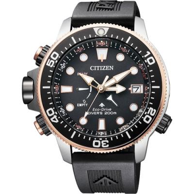 CITIZEN 星辰 PROMASTER 30週年紀念款 光動能200米潛水錶-46mm