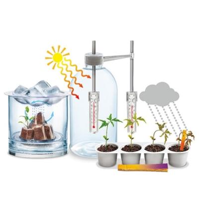 4M大氣科學Weather Science氣象科學水循環天氣實驗小型氣象局科玩00-03402