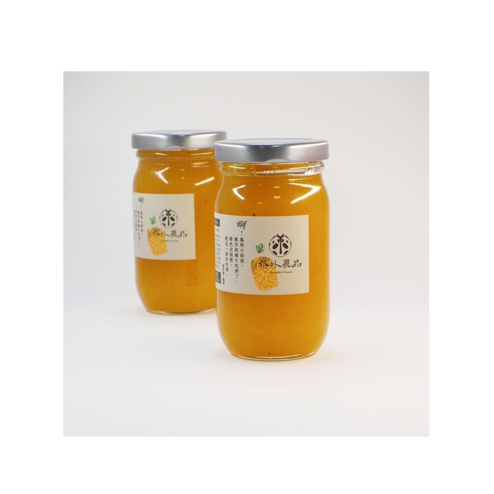 picky digger 嚴選格外農品金鑽鳳梨果茶醬Pineapple Jam 270gx1入 臺灣在地系列節氣水果果醬