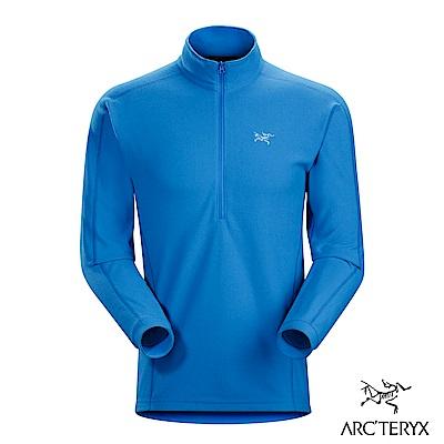 Arcteryx 男 Delta LT刷毛套頭衫 參宿藍