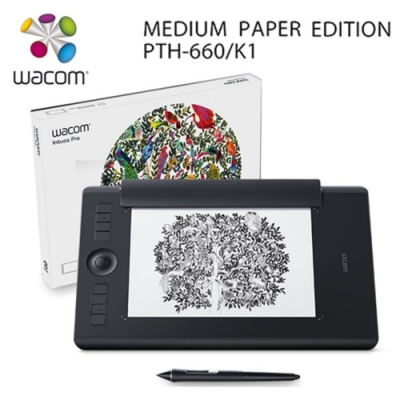 Wacom Intuos Pro medium Paper Edition雙功能專業繪圖板